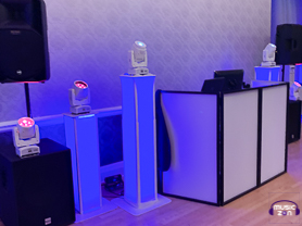 DJ setup ready