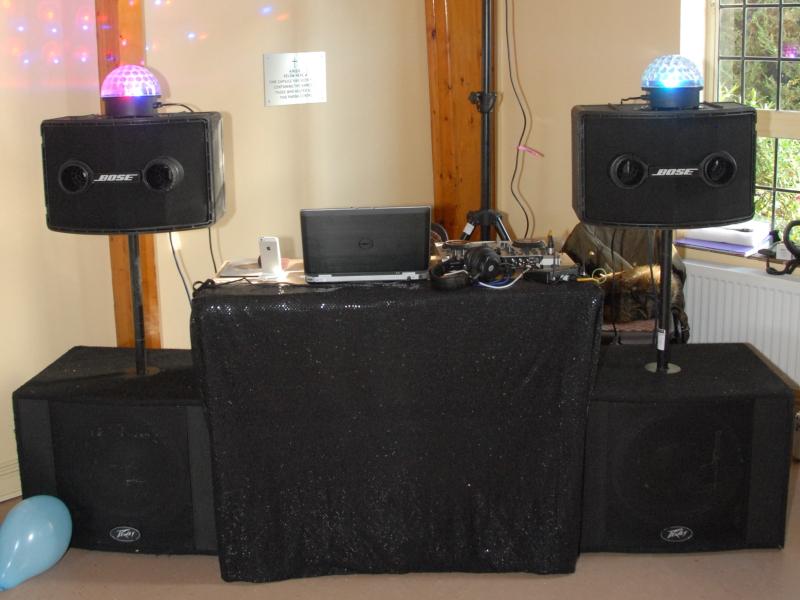 Small DJ Rig