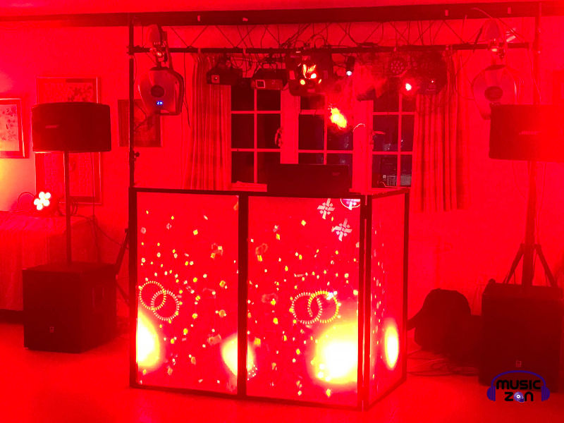 Red DJ Booth