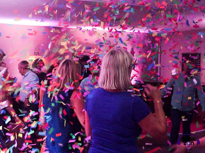 Confetti is not just for weddings